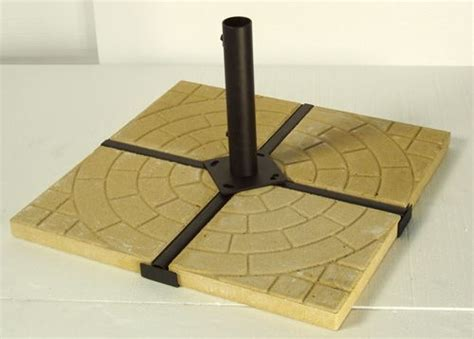 patio umbrella weight with pavers currently out of stock