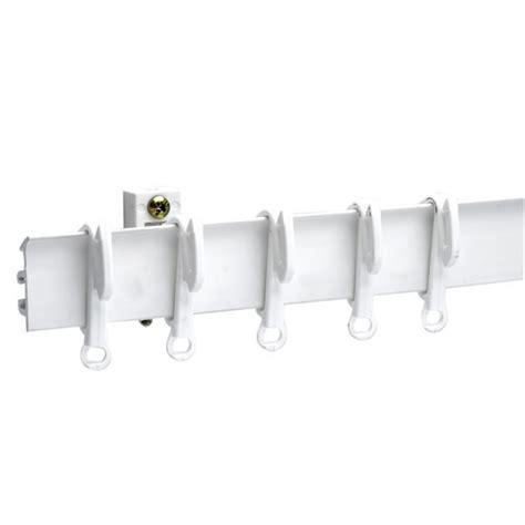 swish sologlide multipurpose curtain track white 150cm at