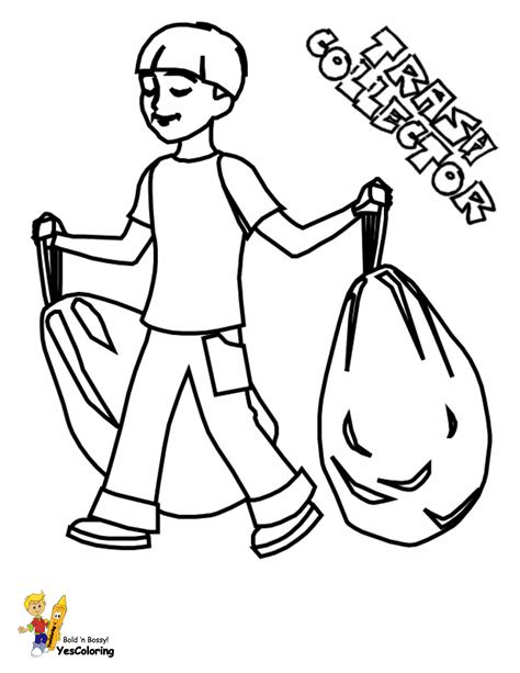 grimy garbage truck coloring page  construction coloring