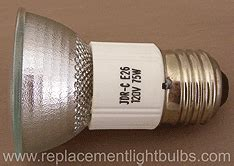 Curio Cabinet Replacement Light Bulbs by Jdr C 120v 75w E26 Rangehood Light Bulb Replacement Lamp