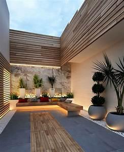Inspiring, Cozy, Courtyard, Patio, Ideas, For, Urban, Homes