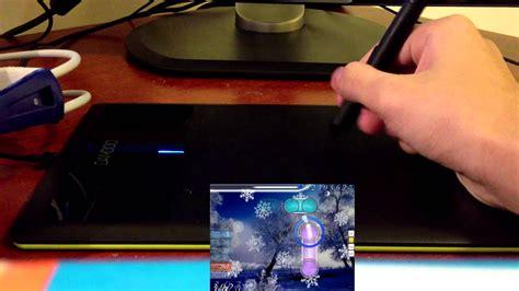 osu tablet wacom gameplay bamboo