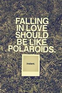 Falling in love…