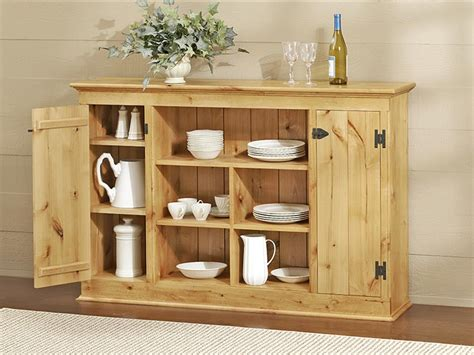 country sideboard woodworking plan  wood magazine