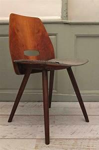 Chaise Bois Vintage : slavia vintage mobilier vintage chaise en bois courb des ann es 50 tatra fox 2 ~ Teatrodelosmanantiales.com Idées de Décoration