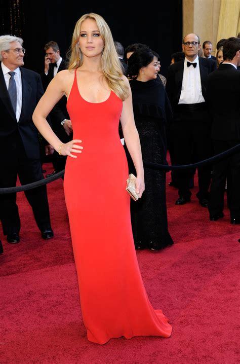 Oscar Red Carpet Fug Or Fab Jennifer Lawrence Go Fug
