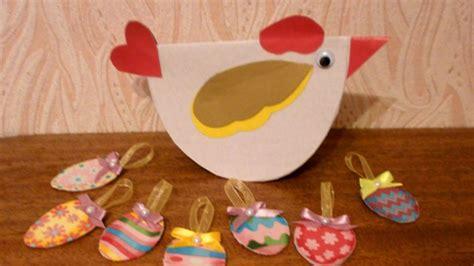 adorable cardboard easter chicken diy crafts