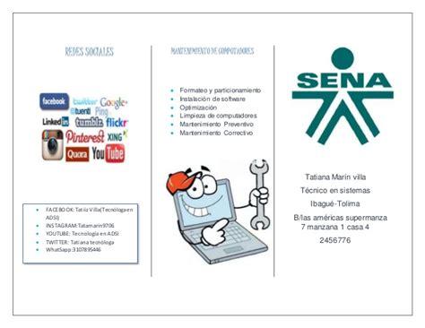 ejemplos de folletos para nios imagui ejemplo de folleto