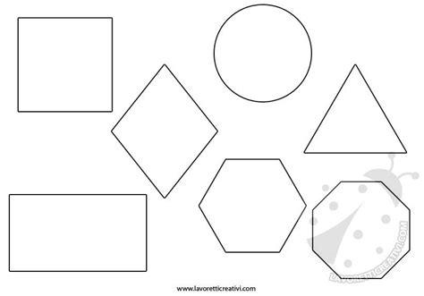 figure geometriche solide da ritagliare figure geometriche da colorare e ritagliare