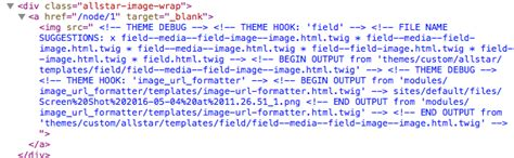 turn off drupal template theming possible to turn off twig debug mode for a