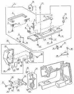 Kenmore Singer Sewing Machine Parts