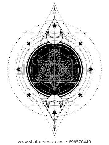 Lotus Sacred Geometry Ayurveda Symbol Harmony Stock Vector 698570449 - Shutterstock