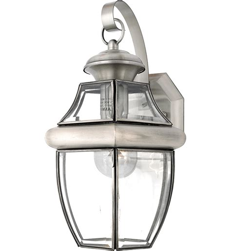 large outdoor wall sconces ls quoizel ny8316p newbury pewter 1 light
