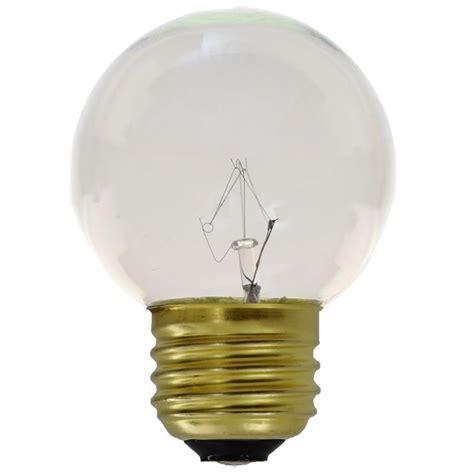 g50 globe commercial light bulbs 25 pack clear