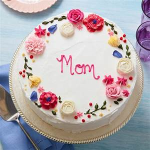 Circle of Love Mother's Day Cake   Wilton