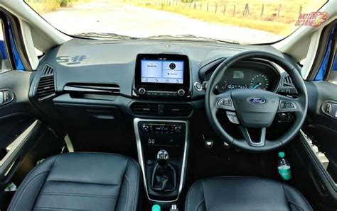 ford ecosport  india price features specifications