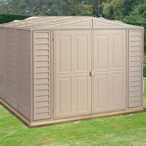 plastic outdoor sheds duramax duramate 8x8 plastic shed