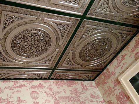 Cheap Ceiling Tiles 24x24 by Steunk Faux Tin Ceiling Tile 24 X24 225 Dct