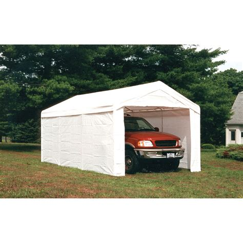 shelterlogic   leg canopy white  enclosure kit