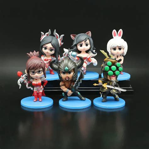3d Plastic Hot Toys Mini Figures League Of Legends Pvc
