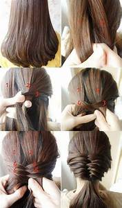Easy Fishtail Braid Hairstyle Tutorial Indian Beauty Tips