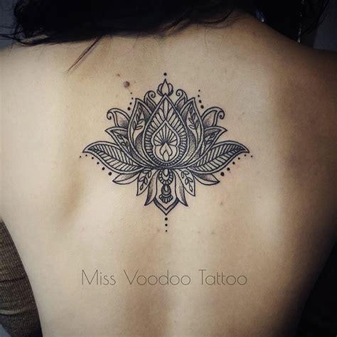Tatouage Unalome Dos Femme Tattoo Art