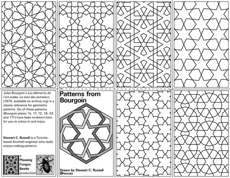 mini zine  geometric patterns coloringbook adafruit