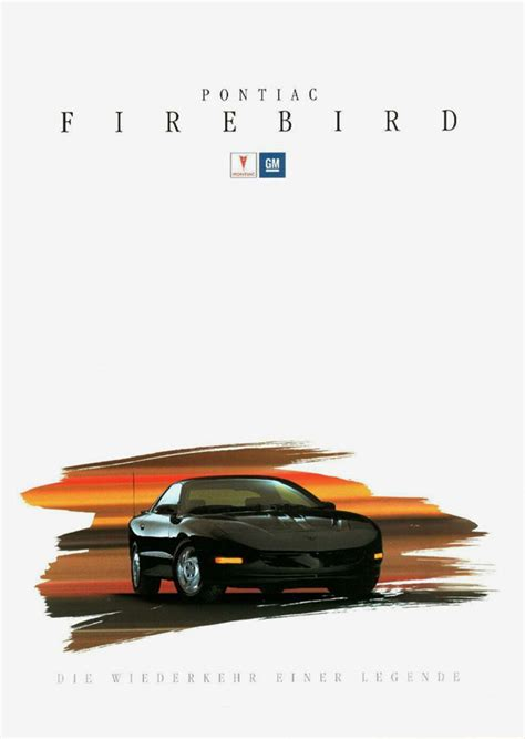 1993 Pontiac Firebird brochure