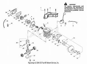 Poulan Pp4620avhd Gas Saw Parts Diagram For Engine Assembly