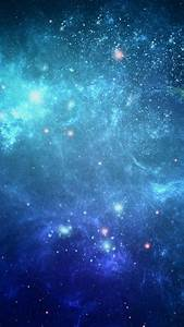 HD Background Beautiful Space Star Cluster Galaxy Blue ...