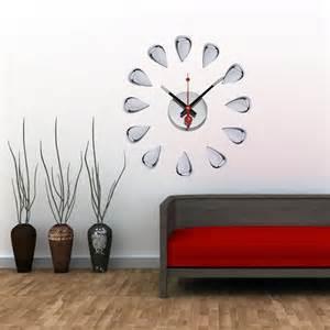 Unique Oversized Wall Clock — John Robinson House Decor