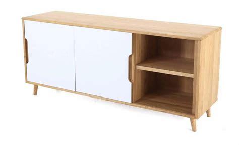 meuble bureau porte coulissante meuble bas 2 portes coulissantes et 3 tiroirs elfy