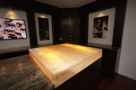 lit onyx bar top modern basement cleveland