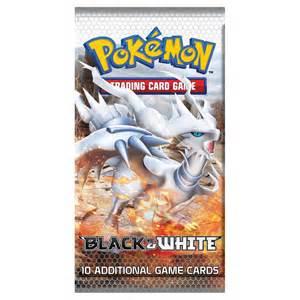 pokemon pokemon trading cards black white booster pack new p152