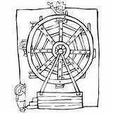 Ferris Wheel Coloring Printable Carnival Designlooter Getcolorings sketch template
