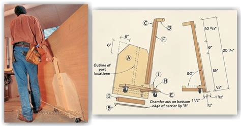 how to build a pipe l diy plywood cart woodarchivist