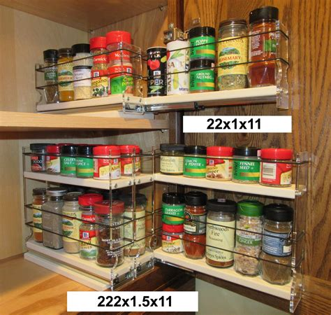 Spice Rack With Spices by Spice Racks Organizing Spices Spice Rack Drawer