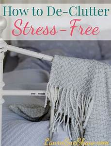 How to De-Clutter Stress-Free | To be, Home and Cleaning