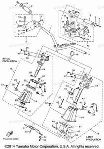 Yamaha Waverunner 2008 Oem Parts Diagram For Steering  1