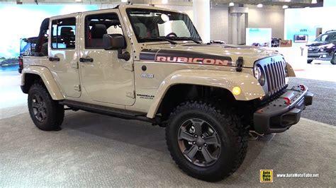 jeep wrangler rubicon recon edition exterior