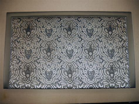 bespoke rectangle headboard  colefax fowler fretwork
