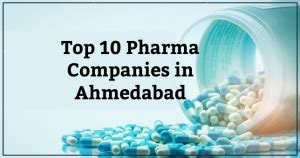 Top 10 Pharmaceutical Companies in Ahmedabad - Learning ...