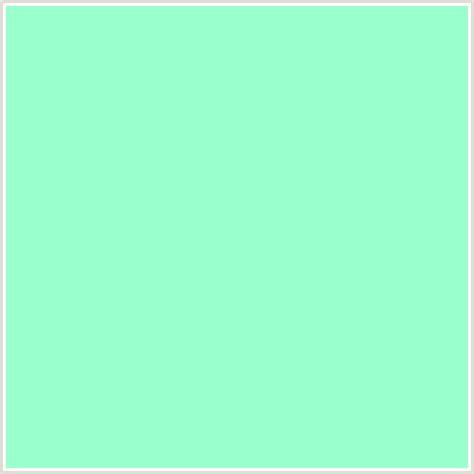 aquamarine color 99ffcc hex color rgb 153 255 204 aquamarine green