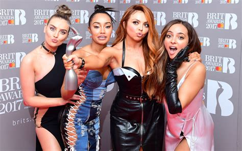 Little Mix win public vote to claim best live act prize at ...