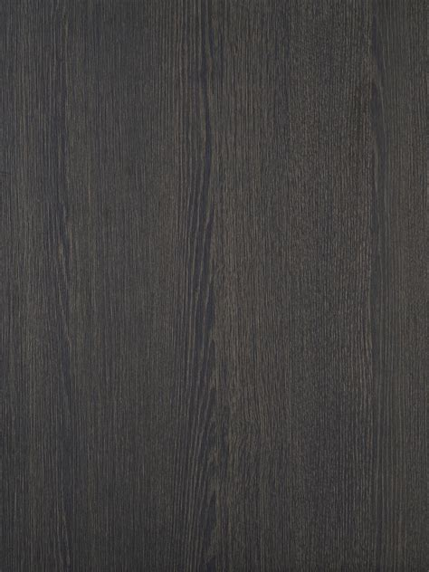 Dark Stained Oak Wood Effect Textured Doors