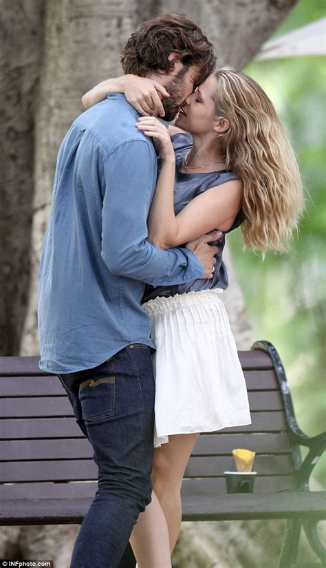Bench Jeans For Men by Teresa Palmer Films Intimate Kissing Scenes With Handsome