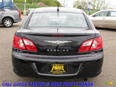 2008 Chrysler Sebring Touring Sedan In Brilliant Black