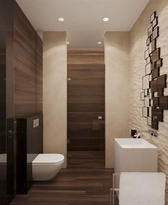 salle de bain blanche et bois a la mode With salle de bain design avec décoration de buche de noel comestible
