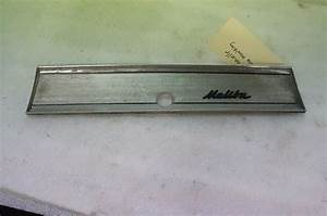 66 1966 Chevelle El Camino Malibu Dash Glove Box Dash Trim