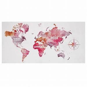 Tableau Carte Du Monde Maison Du Monde : tableau carte du monde tableaux d cor mural enfants maison chambre pour ~ Teatrodelosmanantiales.com Idées de Décoration